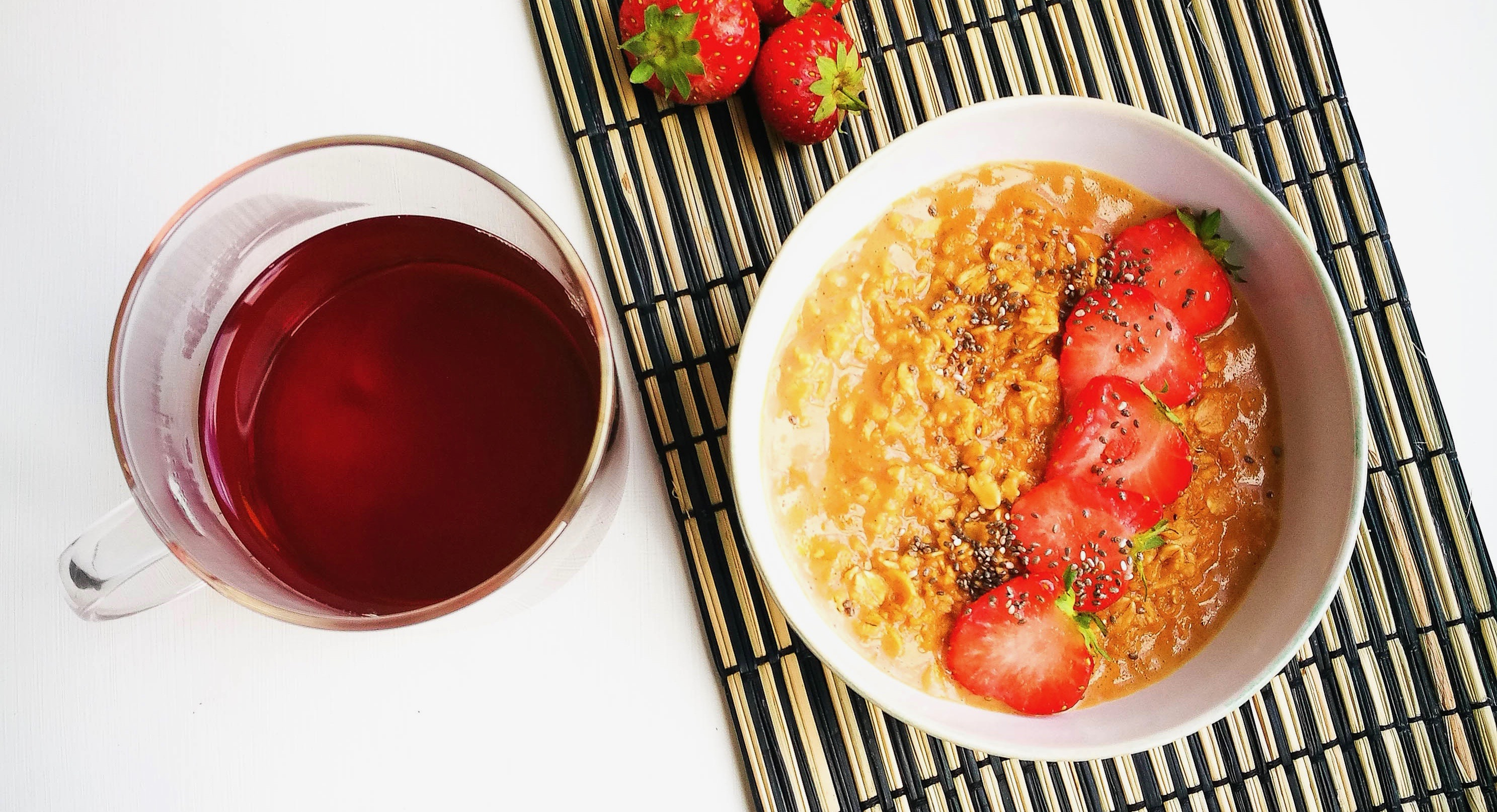Rooibos Vanilla Tea-Infused Porridge + GIVEAWAY!