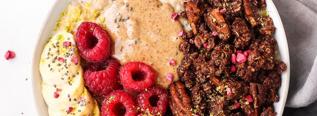 Gluten Free Chocolate Almond Granola