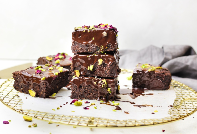 Gluten Free Black Bean Brownies
