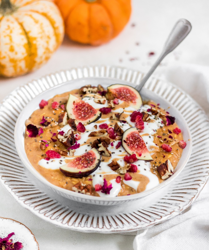 Gluten Free Pumpkin Spice Porridge