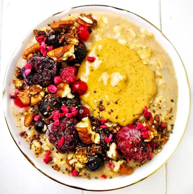 Peanut Butter PorridgeBowl