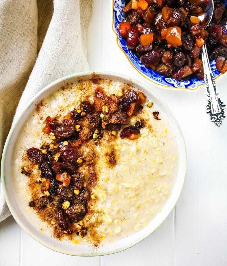 Mince Pie Porridge