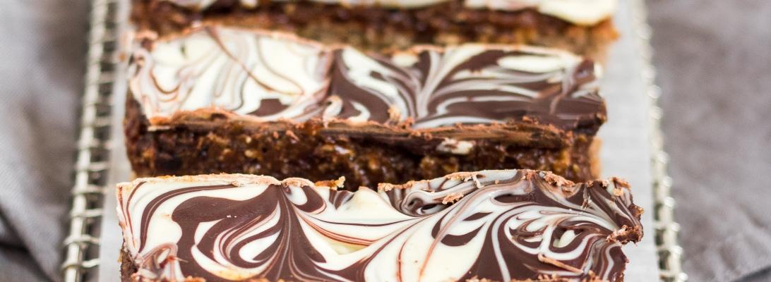 Gluten Free Almond Butter Caramel Bars