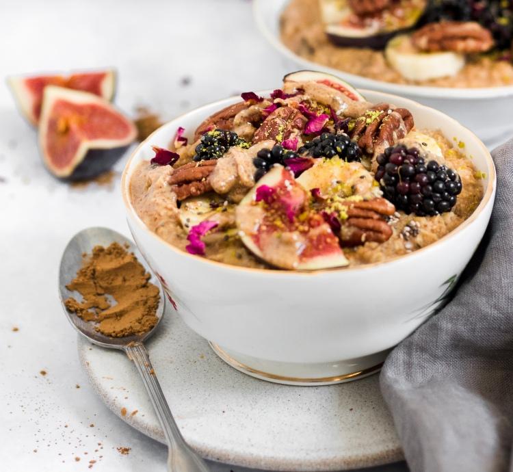 Gluten Free Spiced Chai Porridge
